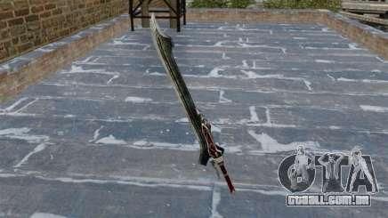 Espada-Red Queen- para GTA 4