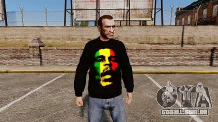 Camisola-Bob Marley- para GTA 4