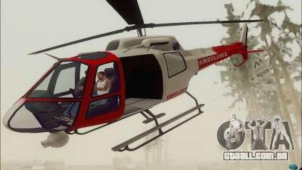 GTA V Ambulacia Maverick para GTA San Andreas