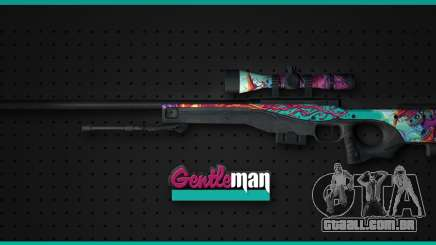 AWP from CS GO Gentleman para GTA San Andreas
