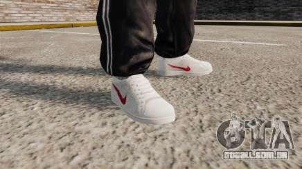 Tênis Nike clássicos para GTA 4