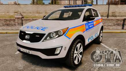 Kia Sportage Metropolitan Police [ELS] para GTA 4