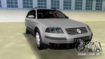 Volkswagen Passat B5+ Variant 1.9 TDi para GTA Vice City