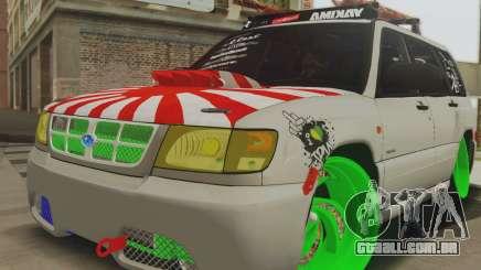 Subaru Forester JDM para GTA San Andreas