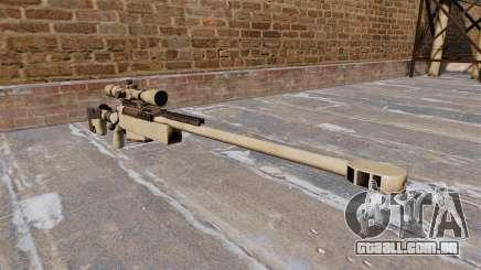 Rifle sniper McMillan TAC-50 para GTA 4