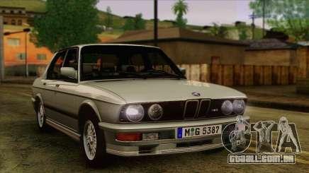 BMW M5 E28 para GTA San Andreas
