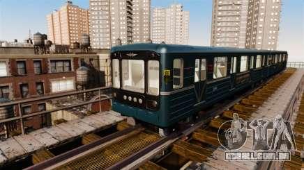 O chefe da Metro wagon modelo 81-717 para GTA 4