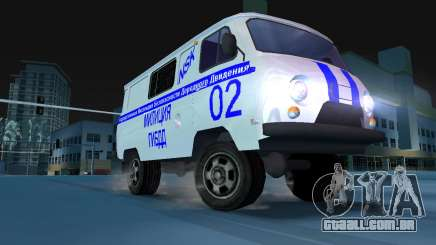 UAZ-3741 GIBDD para GTA Vice City