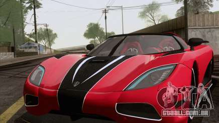 Koenigsegg Agera R 2011 para GTA San Andreas