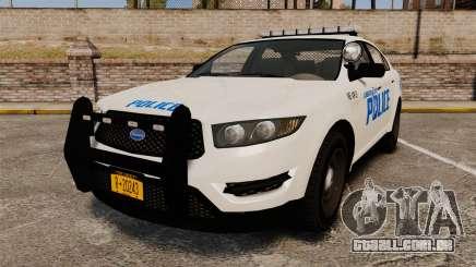 GTA V Vapid Police Interceptor LCPD [ELS] para GTA 4