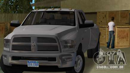 Dodge Ram 3500 Laramie 2012 para GTA Vice City