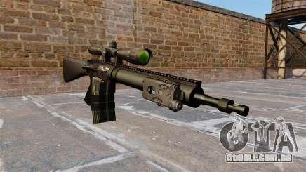 Rifle sniper Mk 12 para GTA 4