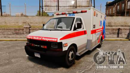 Brute Liberty Ambulance [ELS] para GTA 4