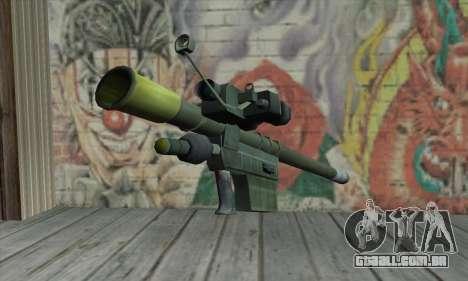Lançador de mísseis para GTA San Andreas