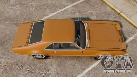Oldsmobile Toronado 1966 para GTA 4 vista direita
