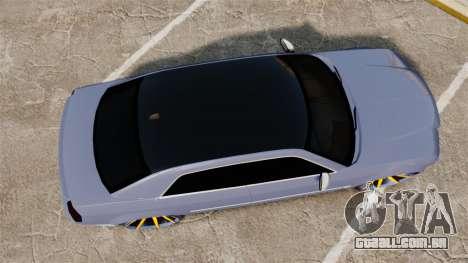 Chrysler 300C SRT8 para GTA 4 vista direita