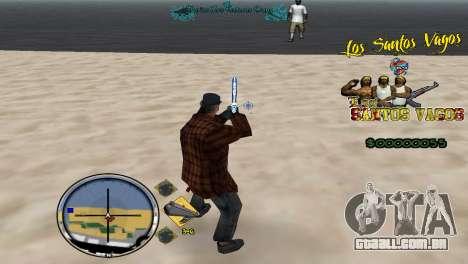Hud By Fawkes para GTA San Andreas terceira tela