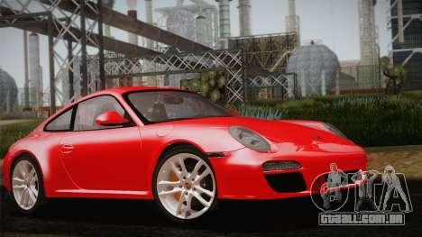 Porsche 911 Carrera para GTA San Andreas vista interior