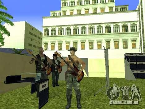 O Filme do concerto para GTA San Andreas nono tela