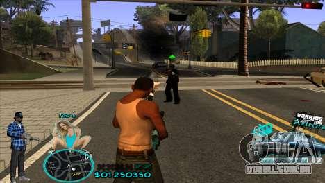 C-HUD Aztecaz by HARDy para GTA San Andreas terceira tela