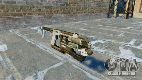 Submetralhadora arma K-Volt v 2.0 para GTA 4