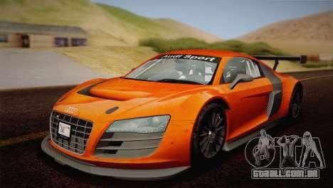 Audi R8 LMS v2.0.4 DR para o motor de GTA San Andreas