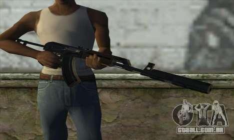 Silenced M70AB2 para GTA San Andreas terceira tela