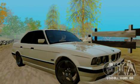 BMW 525 Re-Styling para vista lateral GTA San Andreas