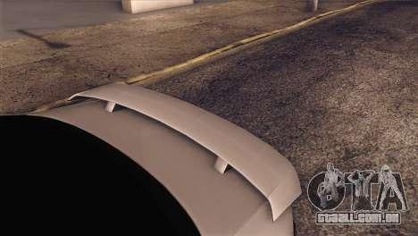 Volkswagen Bora GLI para GTA San Andreas vista traseira