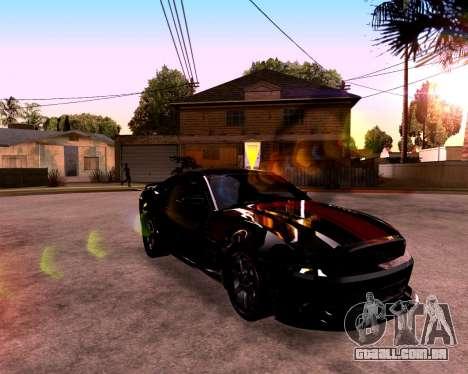 ENB para PC fraco para GTA San Andreas sexta tela
