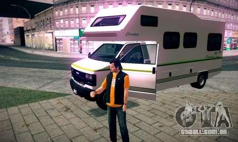 GTA V Camper para GTA San Andreas vista direita