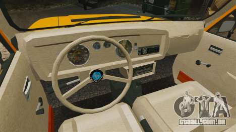 Anadol P2 500 v2 para GTA 4 vista interior