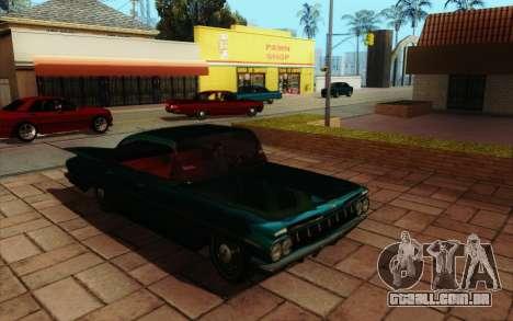 ENB HD CUDA 2014 v2.0 para GTA San Andreas sexta tela