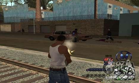 HUD by Anatole para GTA San Andreas terceira tela