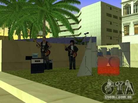O Filme do concerto para GTA San Andreas terceira tela