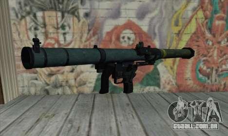 SMAW de BF3 para GTA San Andreas