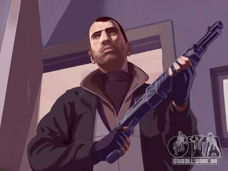 Arranque telas de GTA IV para GTA 4 sexto tela