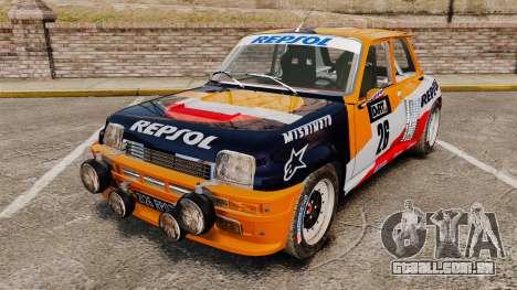 Renault 5 Maxi Turbo para GTA 4