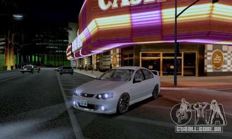 ENB CUDA 2014 for Low PC para GTA San Andreas segunda tela