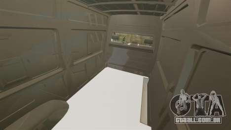 Mercedes-Benz Sprinter Police [ELS] para GTA 4 vista lateral