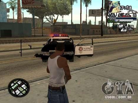 C-Hud Woozie Tawer para GTA San Andreas segunda tela