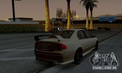ENB CUDA 2014 for Low PC para GTA San Andreas terceira tela