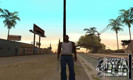 C-HuD Black White para GTA San Andreas