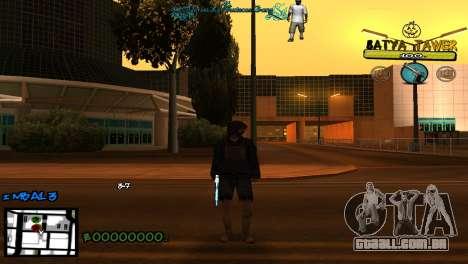 C-Hud by Baton Batya para GTA San Andreas segunda tela