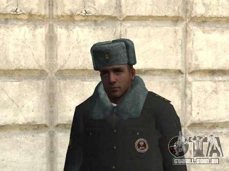 Pak policiais no inverno uniformes para GTA San Andreas segunda tela