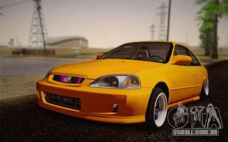 Honda Civic 1999 Si para GTA San Andreas