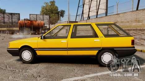 Renault 21 Nevada GTD para GTA 4 esquerda vista