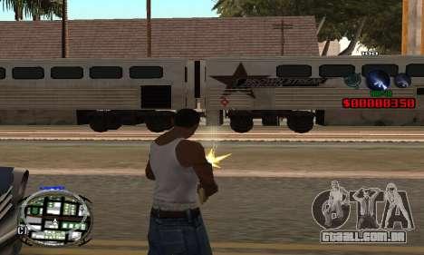 C-HUD (LSPD) para GTA San Andreas segunda tela