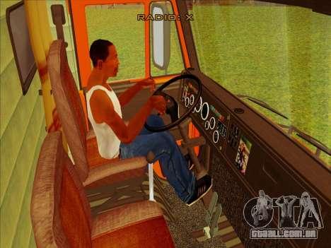 KamAZ-65115 para GTA San Andreas vista traseira