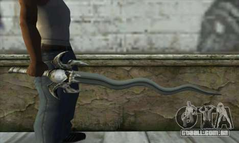 Soul Reaver Sword para GTA San Andreas terceira tela